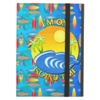 I Am On Island Time iPad Air Cases