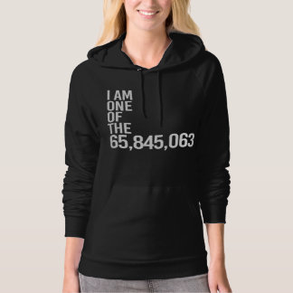 I AM ONE OF THE 65 MILLION - - white - Hoodie