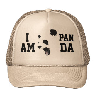 I AM PANDA Trucker Hat
