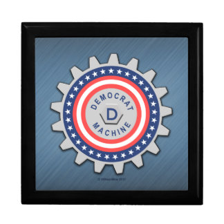 I Am Part of the Democrat Machine Large Square Gift Box