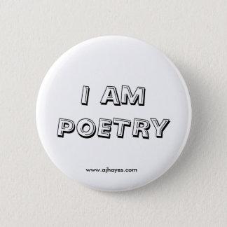 I Am Poetry Button w/Website