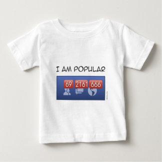 i am popular baby T-Shirt