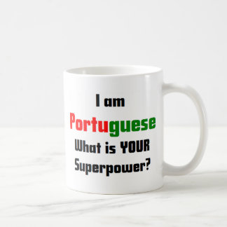 I am Portuguese Coffee Mug