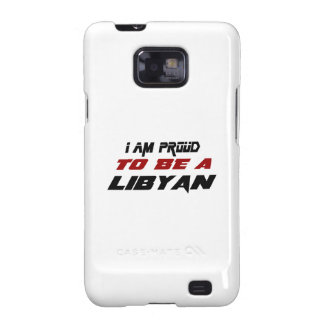 I am proud to be a Libyan Samsung Galaxy S2 Covers