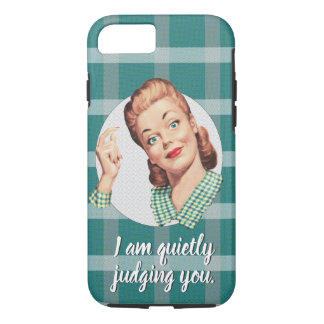 I am quietly judging you. iPhone 8/7 case