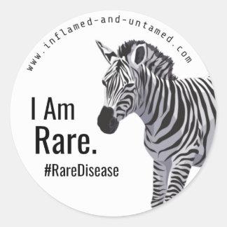 I Am Rare Sticker. Classic Round Sticker