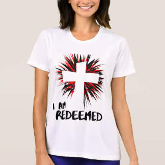 """I Am Redeemed"" Inspirational Christian Shirt"