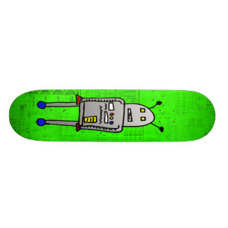 I am RoboBoard 18.1 Cm Old School Skateboard Deck