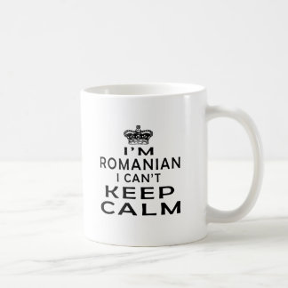 I am Romanian I can't keep calm Coffee Mug