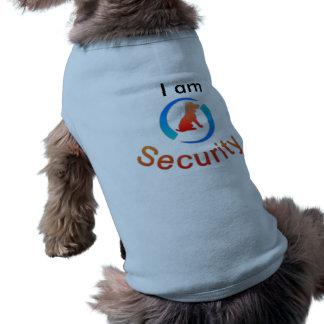 I am Security Dog Costume Sleeveless Dog Shirt