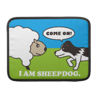 I AM SHEEPDOG MACBOOK AIR 13 inch case