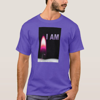 I AM Shirt Men's purple