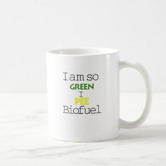 I Am So Green I Pee Biofuel Mug