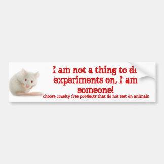 I am someone! bumper sticker