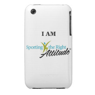 I AM Sporting the Right Attitude Case-Mate iPhone 3 Cases