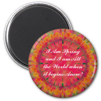 I Am Spring Magnet