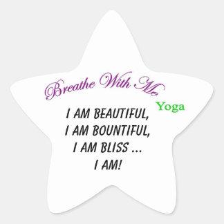 """I Am"" Star Sticker"