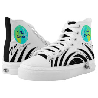 """""""I AM"""" Strong High Top Sneakers"""