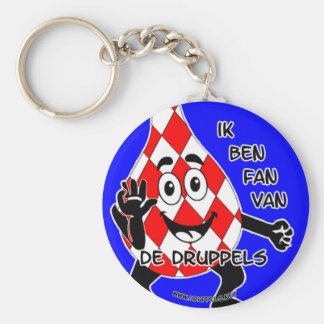 I am SUPPORTER of the drops - key-ring Key Ring