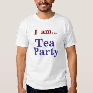 I  am...Tea Party Shirts