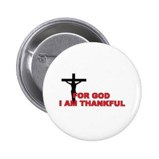 I Am Thankful Button