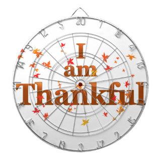 i am thankful dartboard