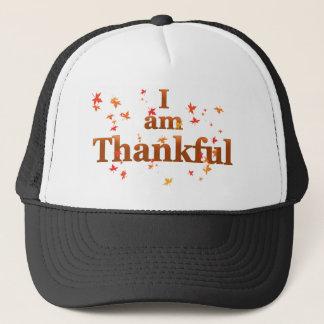 i am thankful trucker hat