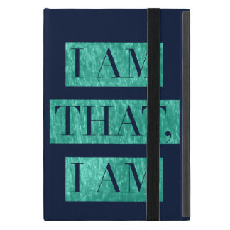 I Am That, I Am iPad Case
