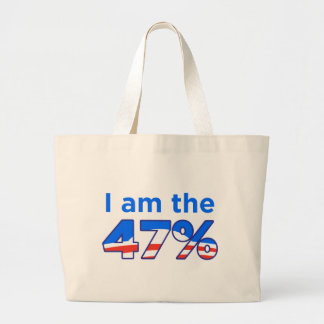 I am the 47% Obama Tote Bag