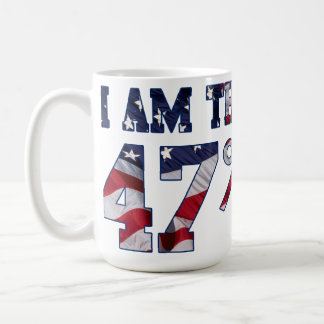 I am the 47% Percent Coffee Tea Mug