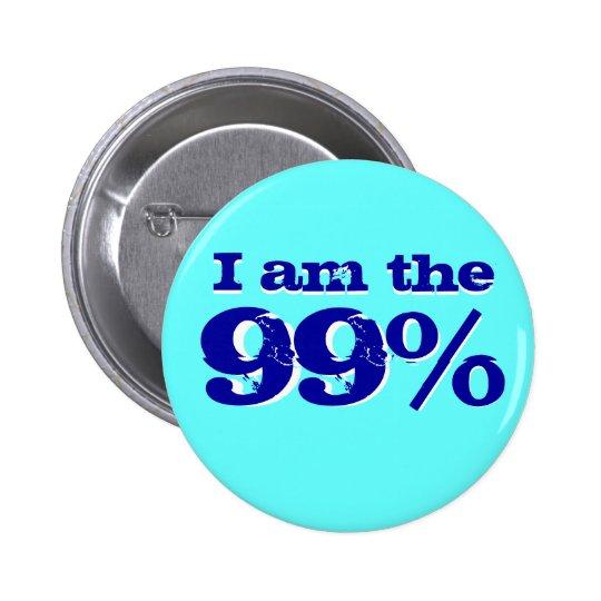 I am The 99 percent 6 Cm Round Badge