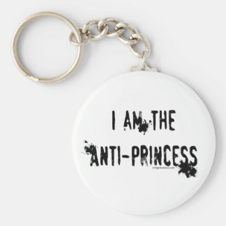 I am the anti-princess key ring