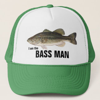 I am the BASS MAN Trucker Hat