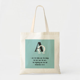 I Am the Beginning and the End Tote Bag