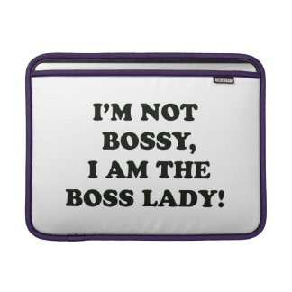 I Am The Boss Lady Sleeve For MacBook Air