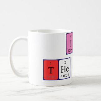 I am the Boss periodic table mug