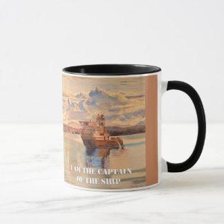 I am the Captain of the Ship Mug