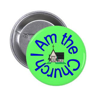 I Am the Church Button