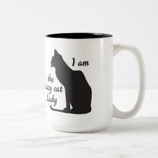 I AM THE CRAZY CAT LADY MUG