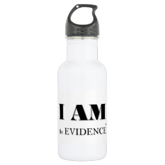 I am the Evidence Signature Waterbottle 532 Ml Water Bottle