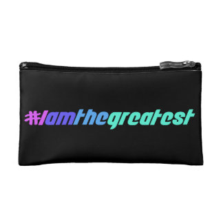 I Am The Greatest Cosmetic Bag