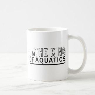 I Am The King Of Aquatics Mugs