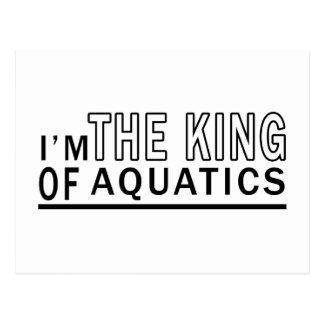 I Am The King Of Aquatics Postcard