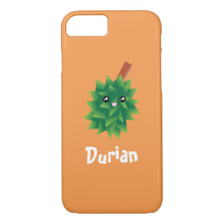 I Am The King of Fruits Cute Kawaii Durian Manga iPhone 8/7 Case