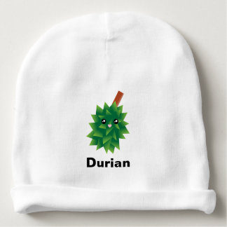 I Am The King of Fruits Durian Kawaii Manga Baby Beanie