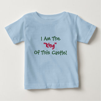 """I Am The, """"King"""", Of This Castle! Kids T-Shirt"""