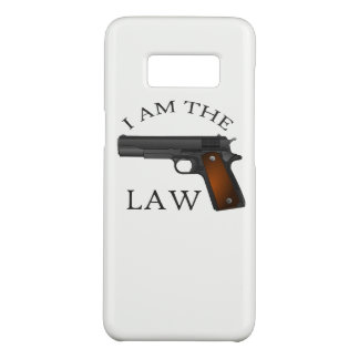 I am the law with a hand gun Case-Mate samsung galaxy s8 case