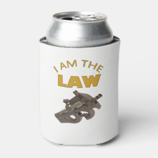 I am the law with a m4a1 machine gun can cooler
