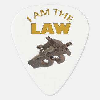 I am the law with a m4a1 machine gun plectrum