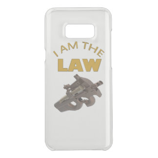 I am the law with a m4a1 machine gun uncommon samsung galaxy s8 plus case